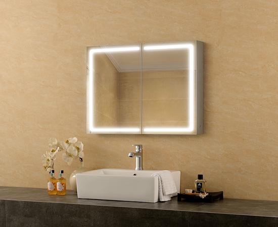 Caesar Mirror Cabinet Bathroom Mirror Defogger