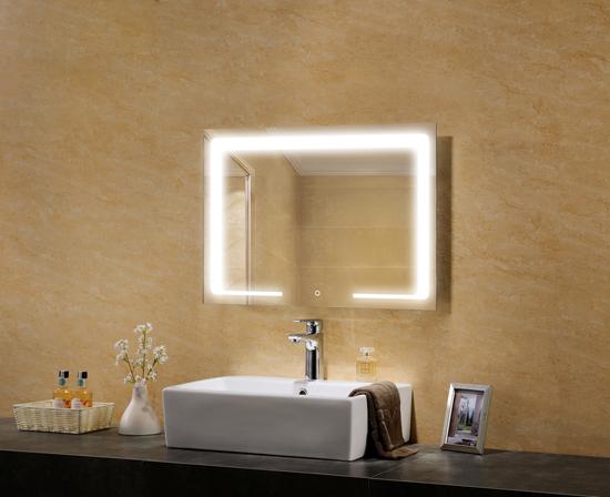 Hebe Lighted Mirror Bathroom Mirror Defogger