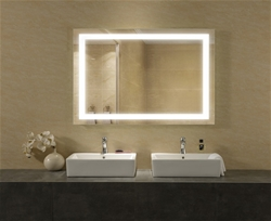 Eternity lighted mirror