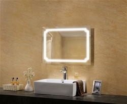 Poseidon lighted mirror