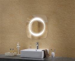 Selene lighted mirror